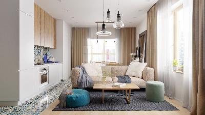 Nhà phố mới và giá tốt cho thuê tại Nhà Bè, gần quận 7, đầy đủ nội thất, giá thuê thấp