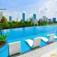 MIDTOWN SAKURA APARTMENT FOR RENT, PHU MY HUNG, DISTRICT 7, 89M2, PRICE: 1200 USD/MONTH.